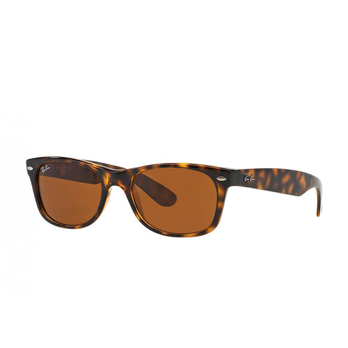 Ray-Ban RB2132-52 New Wayfarer Sunglasses, 52mm brown