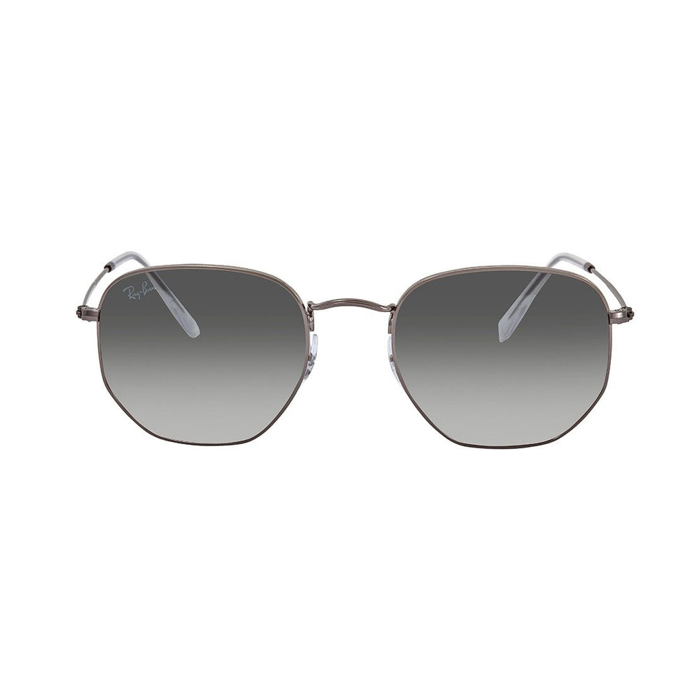 Ray-Ban RB3548N-54 Hexagonal Flat Sunglasses, 54mm Grey Gradient
