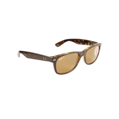 Ray-Ban RB2132-55 New Wayfarer Sunglasses, 55mm Tortoise / Brown POLARIZED