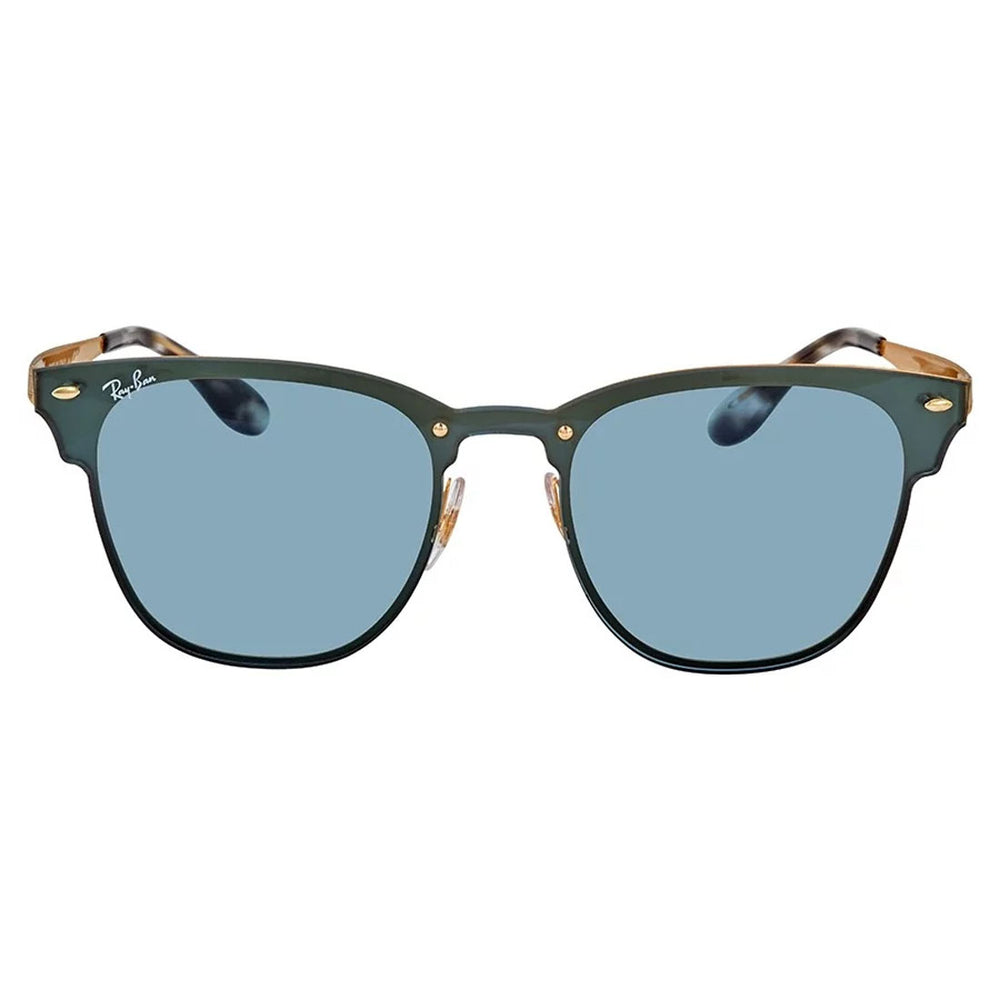 Ray-Ban RB3576N-47 Blaze Clubmaster Sunglasses, 47mm Blue Classic