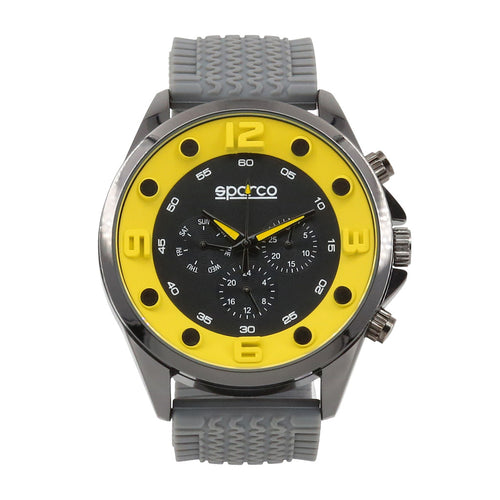 Sparco FERNANDO Watch, Yellow