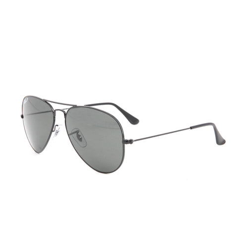 RayBan RB3025-58 Aviator Sunglasses, 58mm black
