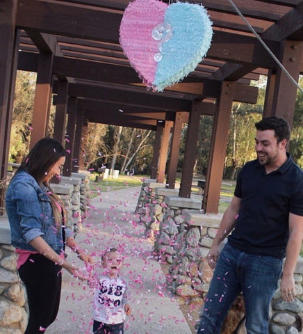 Gender Reveal Piñata - Bygge Bo