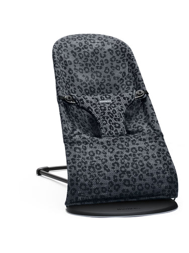 BabyBjorn, Bouncer Bliss Anthracite Leopard - Bygge Bo