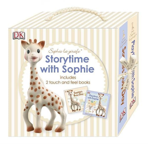 Sophie la Girafe, Touch & Feel Book Gift Set - Bygge Bo