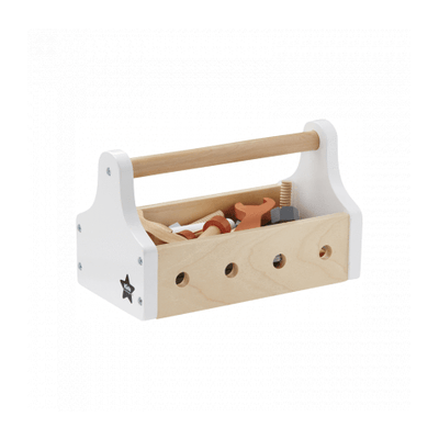 Kids Concept, Wooden Tool Box