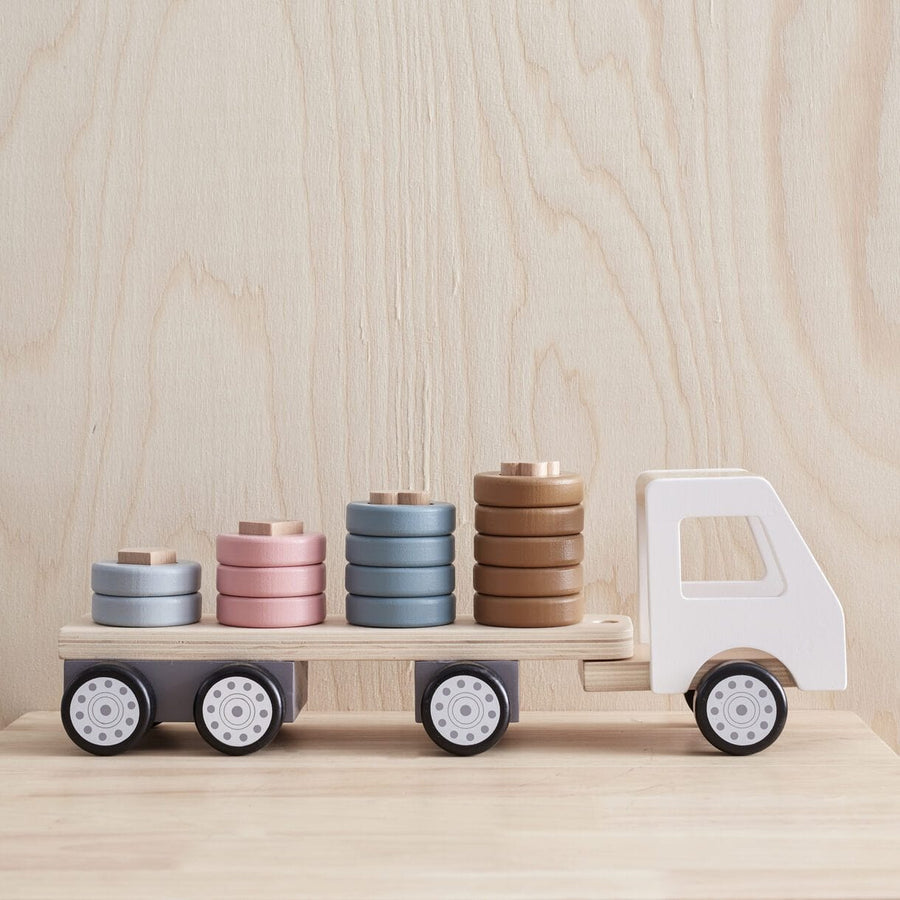 Kids Concept, Sorter Ring Truck Aiden