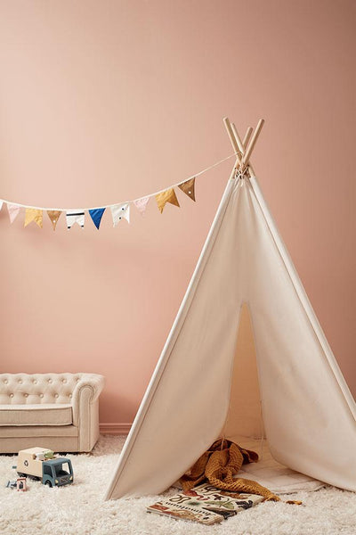 Kids Concept, Play Mat - Off White - Bygge Bo