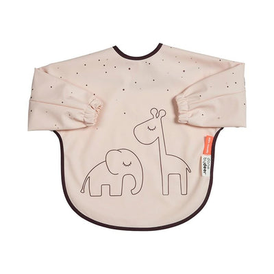 Done by Deer, Sleeved Weaning Bib - Bygge Bo
