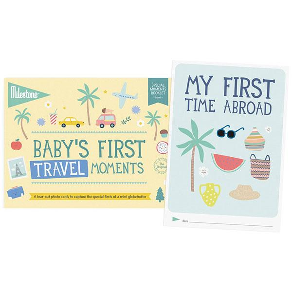 Milestone Cards, Baby's First Special Moments - Travel - Bygge Bo