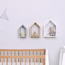 Load image into Gallery viewer, Snuz, House Wall Shelf Set - Bygge Bo