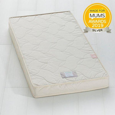 The Little Green Sheep, Twist Natural Latex Cot Mattress 60x120cm - Bygge Bo