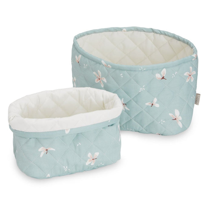Cam Cam Copenhagen, Set of 2 Quilted Storage Baskets - Bygge Bo