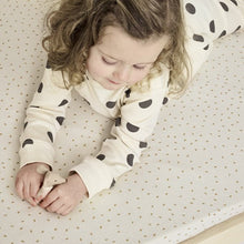 Load image into Gallery viewer, The Little Green Sheep, Organic Cot Bed Jersey Fitted Sheet