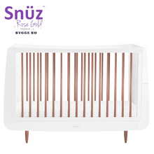 Load image into Gallery viewer, Snuz, SnuzKot Skandi Rose Gold Cot Bed