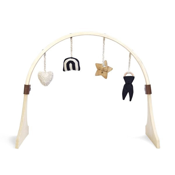 The Little Green Sheep, Wooden Activity Play Gym - Bygge Bo