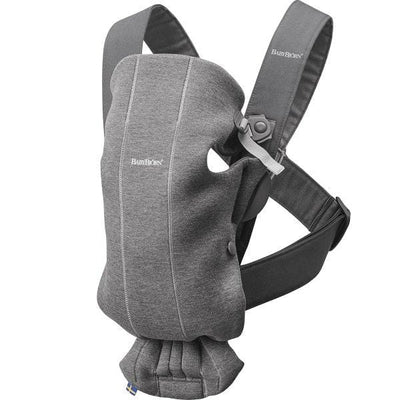 BabyBjorn, Baby Carrier Mini Dark Grey, 3D Jersey
