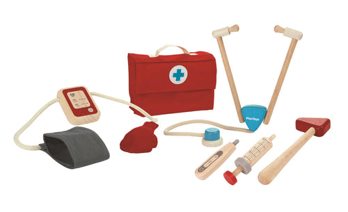 Plan Toys, Doctors Set - Bygge Bo