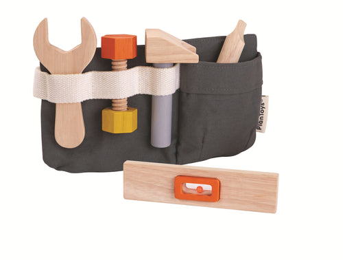 Plan Toys, Tool Belt Kids set - Bygge Bo