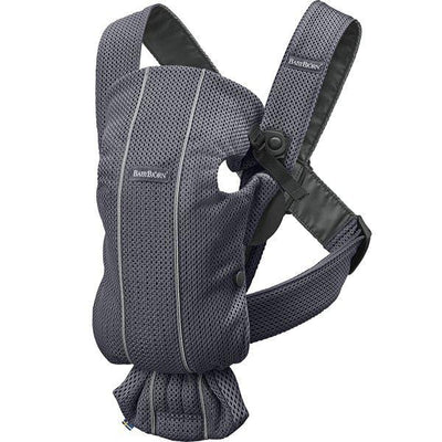 BabyBjorn, Baby Carrier Mini Anthracite, 3D Mesh