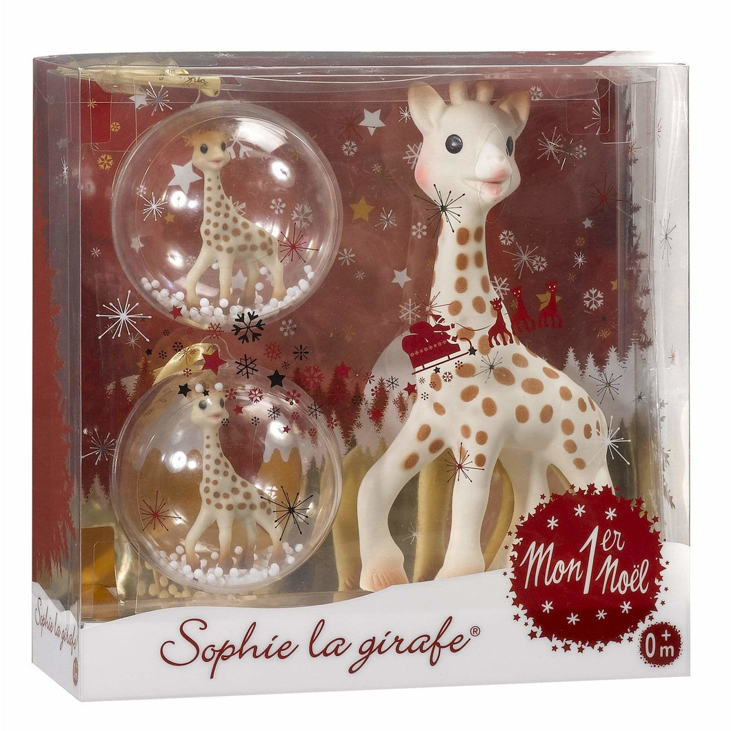 Sophie la Girafe, My First Christmas Gift Set - Bygge Bo