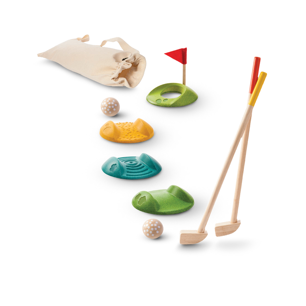 Plan Toys, Mini Golf Full Set
