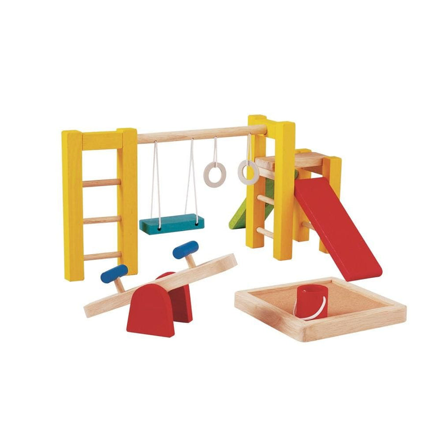 Plan Toys, Dolls House Playground - Bygge Bo