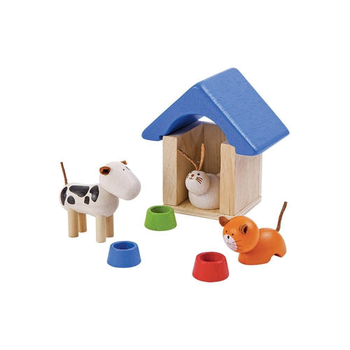 Plan Toys, Dolls House Pets & Accessories - Bygge Bo