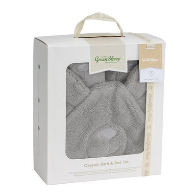 The Little Green Sheep, Organic Baby Bath & Bed Set
