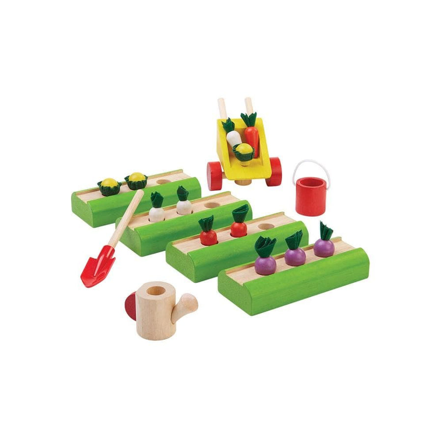Plan Toys, Dolls House Vegetable Garden - Bygge Bo