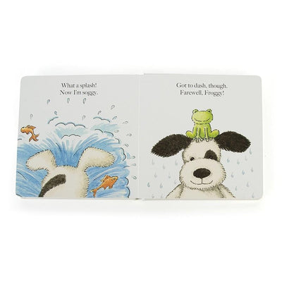 Jellycat, Puppy Makes Mischief Book