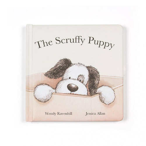 Jellycat, The Scruffy Puppy Gift Book - Bygge Bo