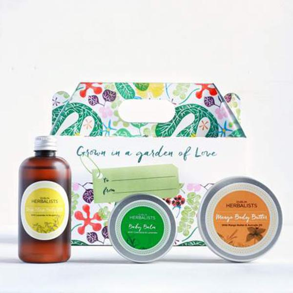 Dublin Herbalists, New Baby Gift Set - Bygge Bo