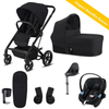 Cybex, Balios S 2-in-1, Bumper Travel Bundle w/ Aton M (Black) - Bygge Bo