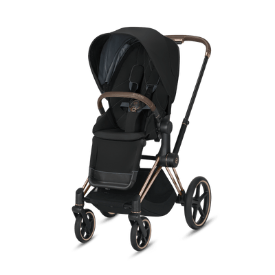 Cybex, 2020 Priam Pushchair with Lite Cot - Bygge Bo
