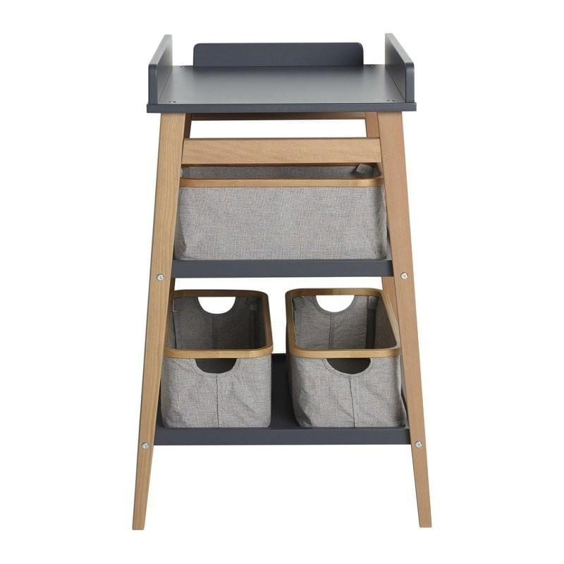 Quax, Hip Changing Storage Table - Moonshadow/Naturel