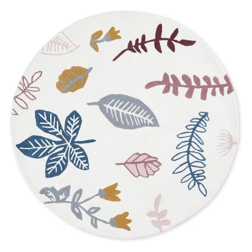 Cam Cam Copenhagen, Pressed Leaves Rose Rug - Bygge Bo