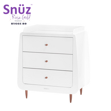 Load image into Gallery viewer, SnuzKot, Skandi Rose Gold Changing Unit