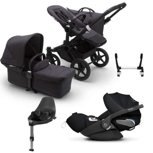 Bugaboo, Donkey 3 Mineral, Mono Travel Bundle w/ Cloud Z