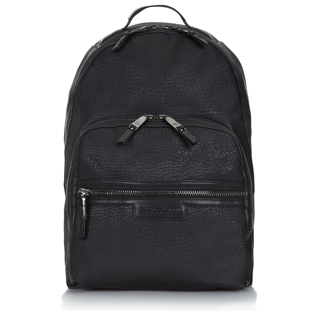 Tiba & Marl, Elwood Backpack Black Changing Bag - Bygge Bo