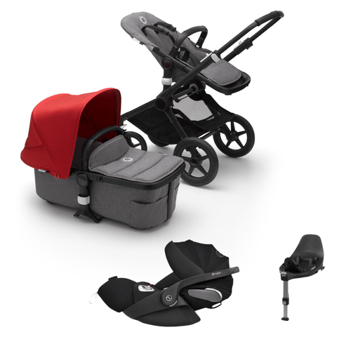 Bugaboo, Fox 2 Styled By You Travel Bundle w/ Cybex Cloud Z - Bygge Bo