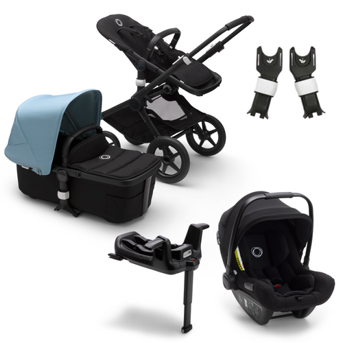 Bugaboo, Fox 2 Complete Travel Bundle w/ Bugaboo Turtle Air - Bygge Bo