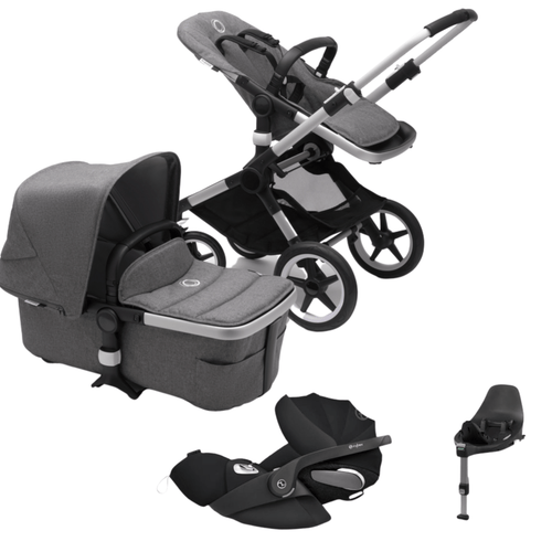 Bugaboo, Fox 2 Complete Travel Bundle w/ Cybex Cloud Z Plus - Bygge Bo
