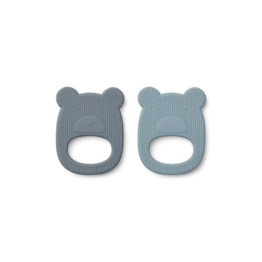 Liewood, Geo silicone teether - 2 pack