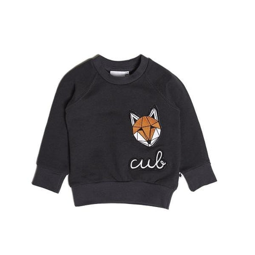 Tobias & The Bear, Icons Badge Loopback Sweatshirt - Bygge Bo