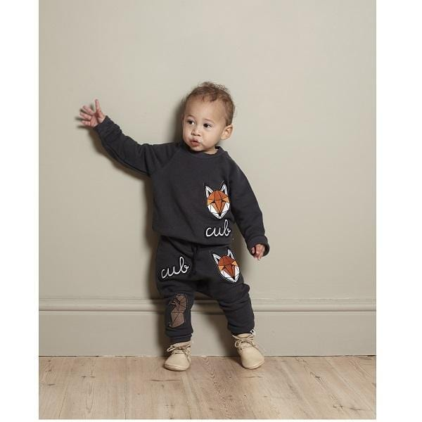 Tobias & The Bear, Icons Badge Joggers For 9-12 months - Bygge Bo
