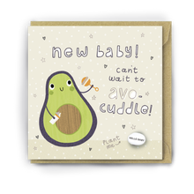 Load image into Gallery viewer, Lucy & Lolly, NEW BABY! CAN'T WAIT TO AVO CUDDLE, Card - Bygge Bo