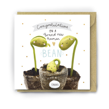 Load image into Gallery viewer, Lucy & Lolly, Brand New Human Bean Card - Bygge Bo