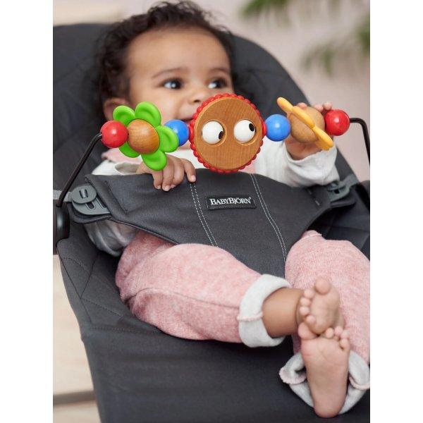 BabyBjorn, BOUNCER TOY Goggly Eyes - Bygge Bo