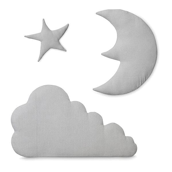 Cam Cam Copenhagen, Wall Decoration Moon, Cloud And Star Blossom Pink